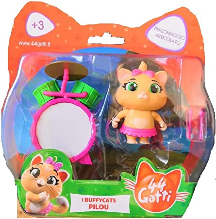 Personaggio Lampo 44 Gatti con Accessori Prodotto Ufficiale di Simba Toys