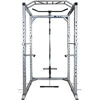 Total Body Base Ultra Power Rack Cage à squats Machine Câble Poulie Barre de traction dips Home Gym