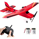 HAWK'S WORK 2 CH RC Airplane, RC Plane Ready to Fly, 2.4GHz Remote Control Airplane, Easy to Fly RC Glider for Kids & Beginne