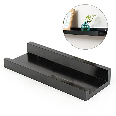 Terrific Ounona Wall Shelf Floating Floating Shelves Ledge Storage Interior Design Ideas Gentotryabchikinfo