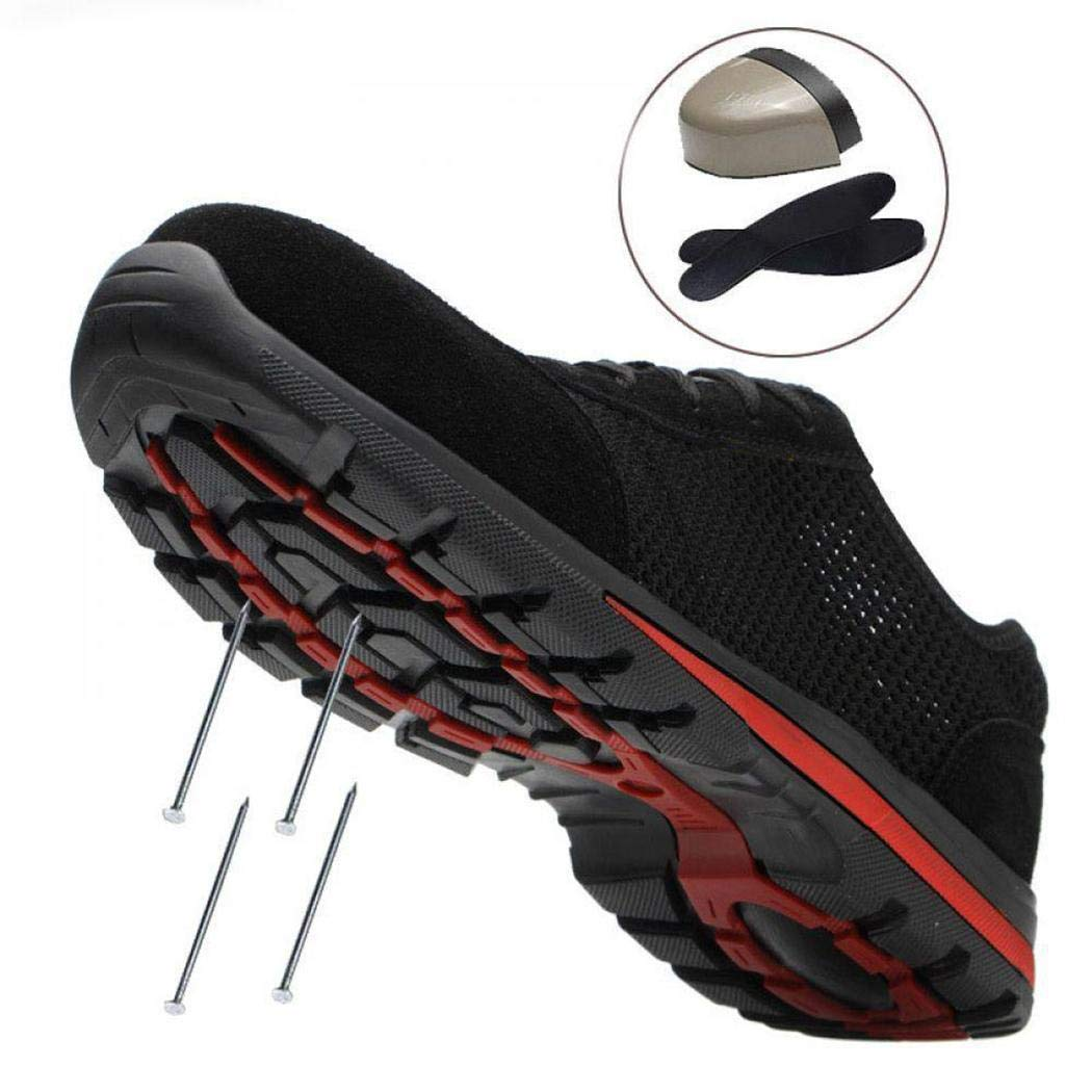 lantusi Summer Breathable Deodorant Safety Construction Site Work Shoes Fire /& Safety