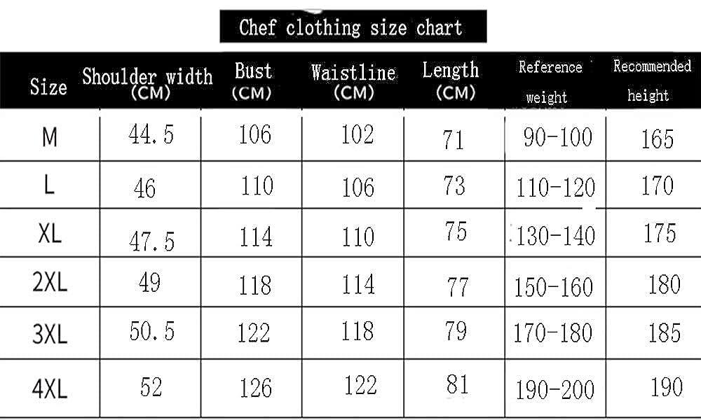 Classico Fit Basic Largo Chef Pantaloni Cucina Uniforme Cuoco Pantaloni