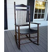 Standard Slat Porch Rocking Chair in Walnut Finish