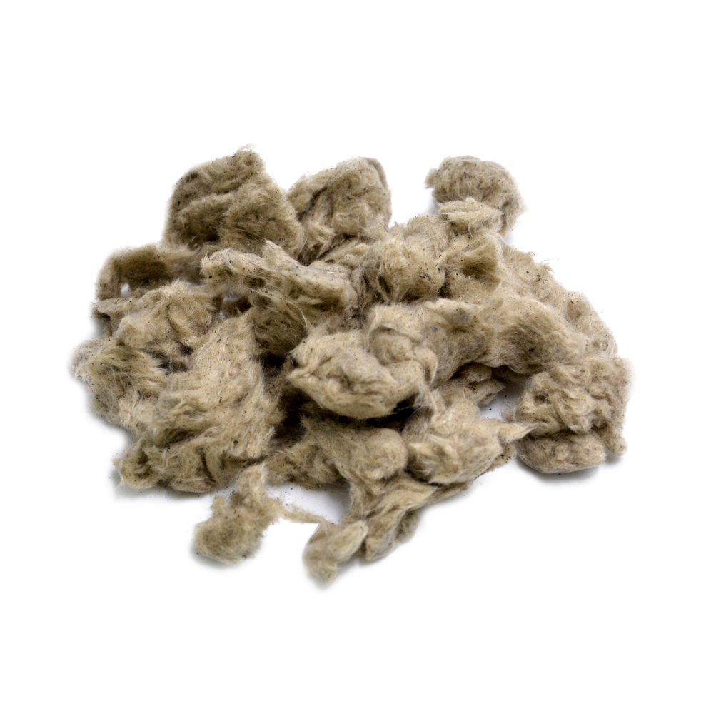 Stanbroil Rock Wool Glowing Embers for Vent Free or Vented Gas Log Sets, Inserts and Fireplaces - 6 Oz. Bag