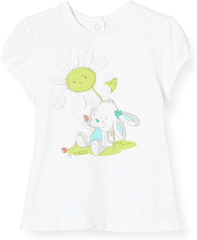 Chicco Baby-M/ädchen T-Shirt Manica Corta Bimba Pullunder