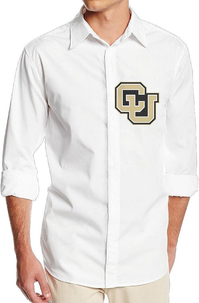 Universidad de Colorado Boulder Cu nf18g Cool – Camisa de manga larga para hombre blanco: Amazon.es: Ropa y accesorios