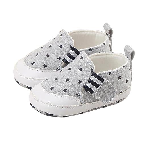 Logobeing Zapatos Bebe Recién Nacido Bebé Niña Niño Impresión Cuna Zapatos Suave Suela Zapatos Antideslizantes Zapatillas
