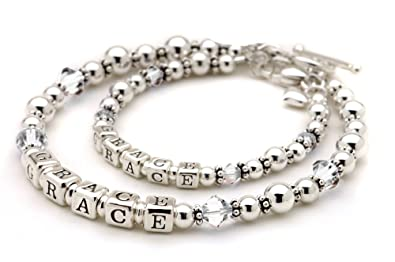 Very best Amazon.com: Matching Mommy & Me Bracelet Set for Mother & Daughter  PC07