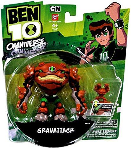 Ben 10, Omniverse Action Figure, Gravattack, 3 Inches