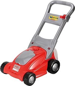 Wader Quality Toys e.K. 75400 - Cortacésped de juguete, color rojo y plateado: Amazon.es: Juguetes y juegos
