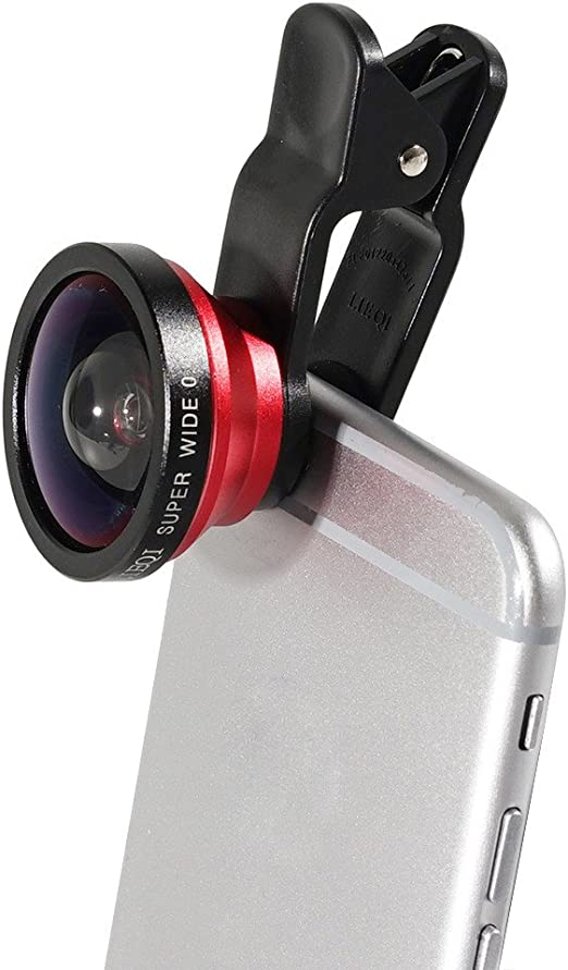 LIEQI LQ de 003 3 en 1 universal mobile phone Lens 180 ° Fisheye Lens + Super Wide Angle + Macro Lens with clip Camera Lens For iPhone and Most Smartphone: Amazon.es: Electrónica