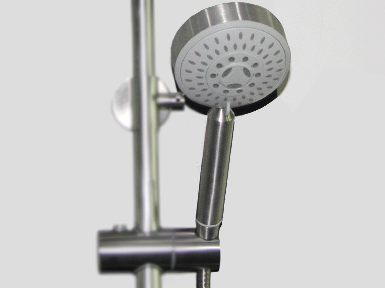 Increases Pressure Multi Functional Detachable Shower Head Stainless Steel Rainfall Shower Set Head ABLinox Handheld Shower Head