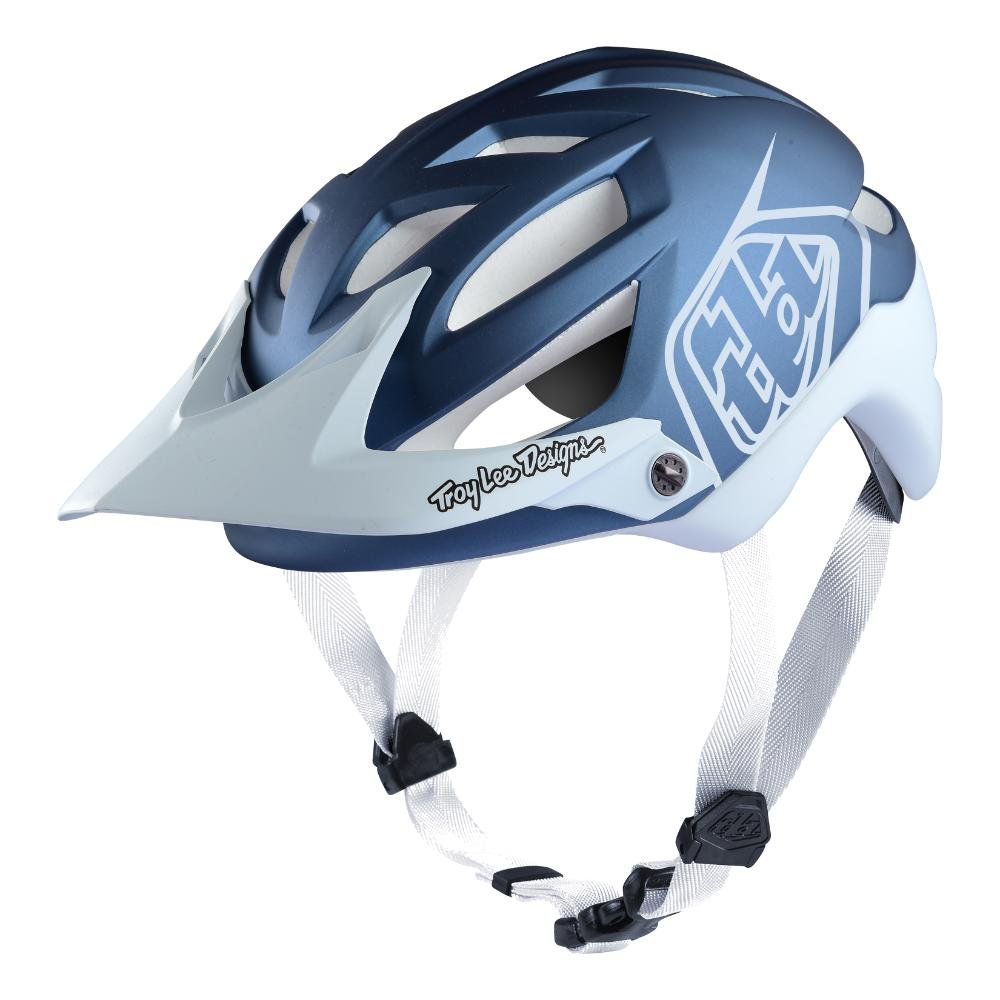 Troy Lee Designs Adult | All Mountain | Mountain Bike | A1 Classic Helmet with MIPS (Medium/Large, Blue/White)