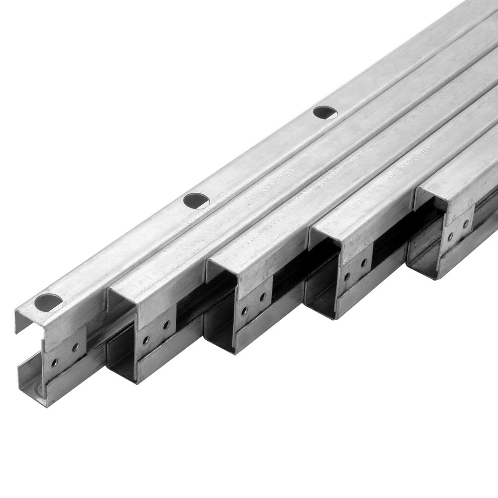 Extension Slides - Steel, 2'' High- Max Opening of 50'' (set)