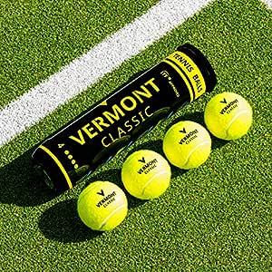 Vermont Classic Pelotas de Tenis - Homologadas por la ITF (Opción ...