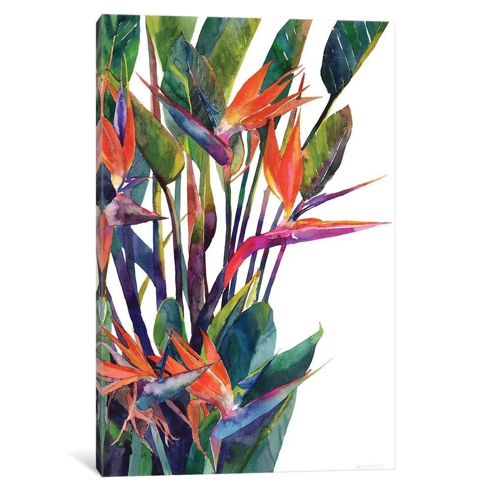 iCanvas''Bird of Paradise'' by Maja Wronska Canvas Print 40'' x 26'' x 0.75'' by iCanvasART
