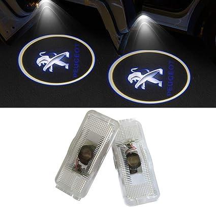 LIKECAR 2 unids Coche LED Proyector Puerta Lámpara Fantasma Sombra ...