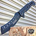 Only US STONEWASHED RAZOR TACTICAL SPRING ASSISTED OPEN FOLDING POCKET KNIFE