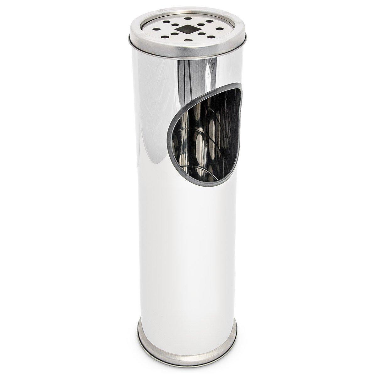Posacenere portacenere esterno con cestino portarifiuti integrato