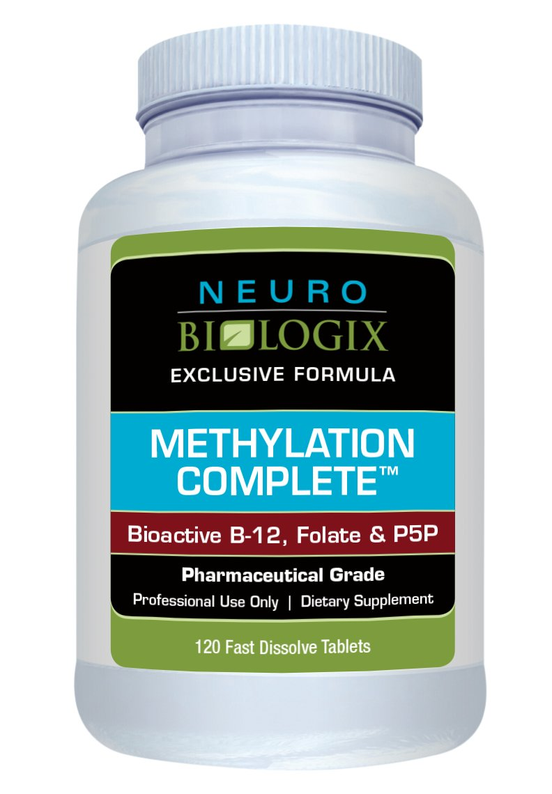 Methylation Complete by Neurobiologix - Fruit Punch Flavor (120 Sublingual Tablets)