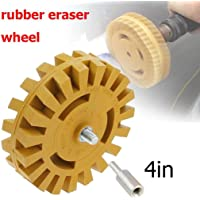 Fansport Decal Remover Rubber Sticker Remover Eraser Wheel