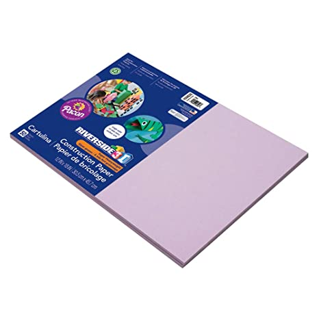 50 Sheets 5 Assorted Colors 9 x 12 SunWorks 9509 Multicultural Construction Paper