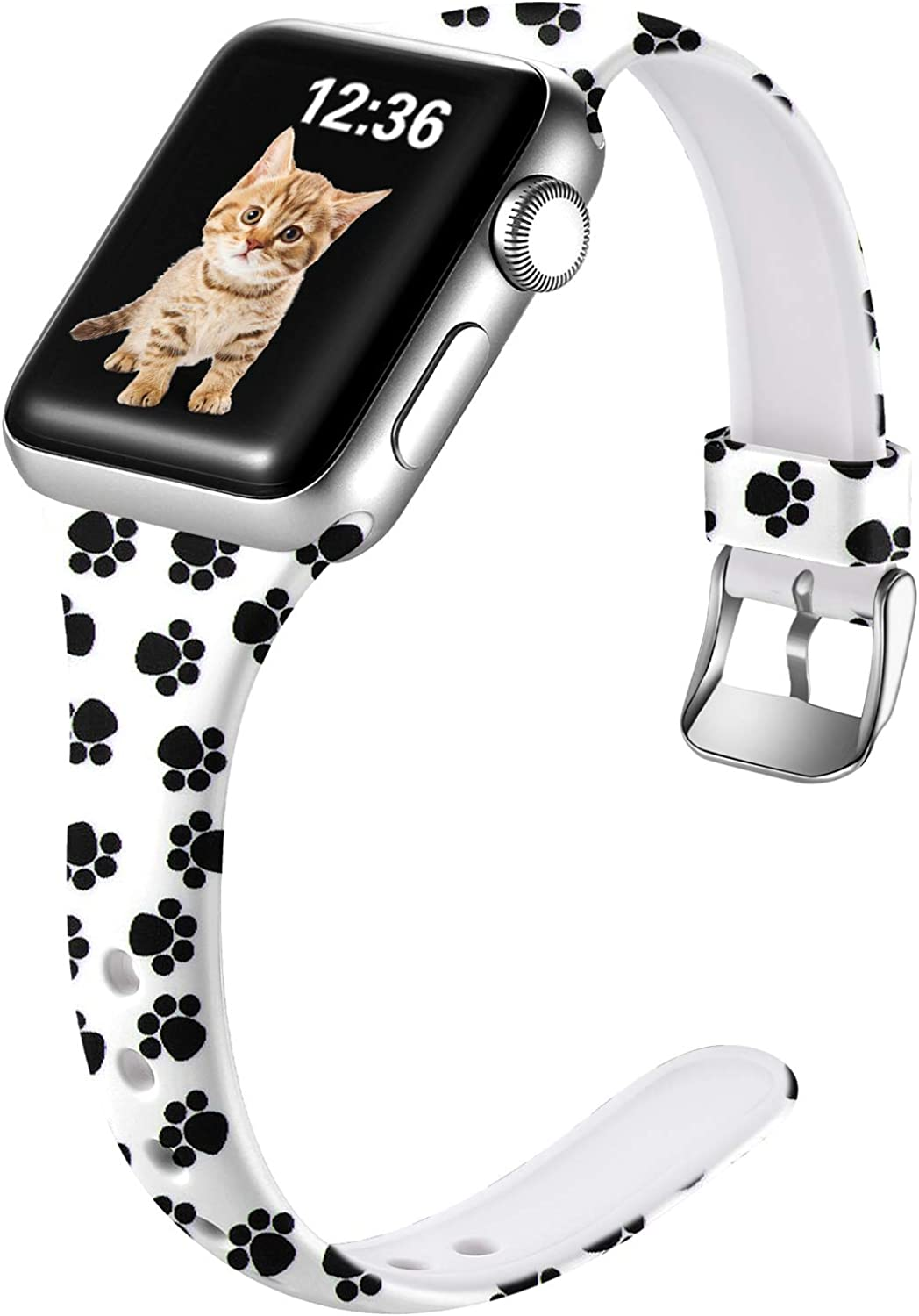 Laffav Compatible with Apple Watch Band 40mm 38mm iWatch SE & Series 6 & Series 5 4 3 2 1 for Womens girl
