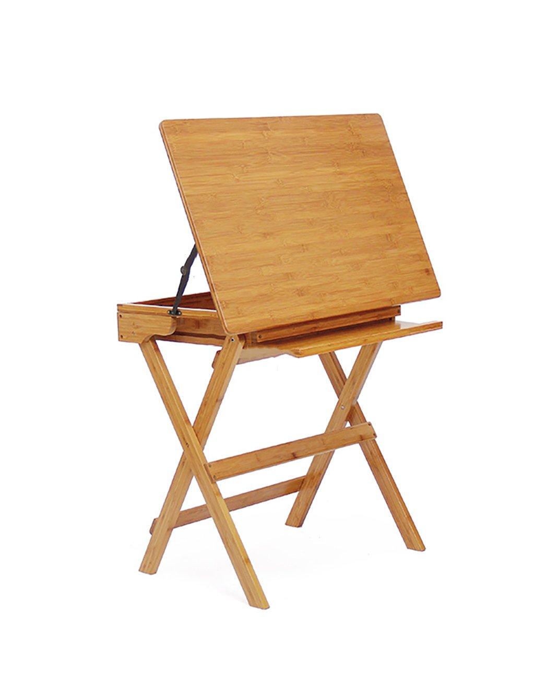 Kinder Lerntische Klapptische Schreibtische Multifunktion Tische Schreibtisch Bambus