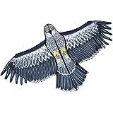 Ahuyentador De Pájaros, Cometa De Halcón Volador Para Jardín, Espantapájaros, Cometa Repelente De Pájaros Extensible…