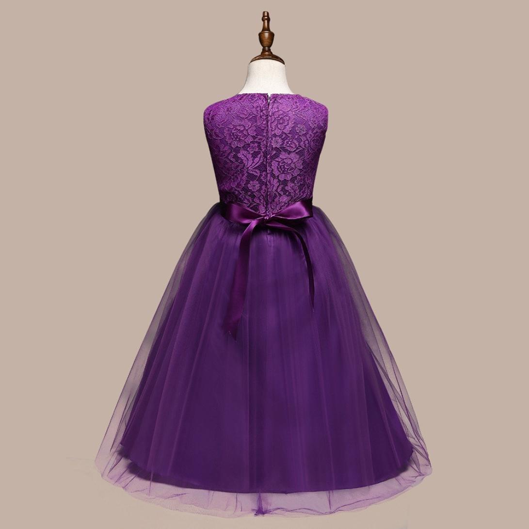 Vestido de niña Vestido de la muchacha de los cabritos de la flor ...
