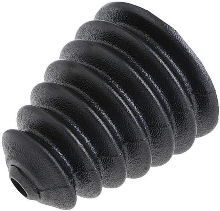 protezione antipolvere utensili elettrici Alftek Drill raccogli polvere in gomma trapano martello elettrico accessori Dremel Kurzes Schwarz