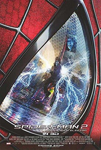 """Amazing Spider-Man 2 - Authentic Original 27"""" x 40"""" Movie Poster"""