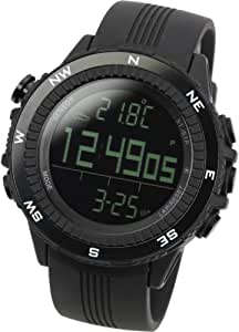 Lad Weather Altimeter Watch Barometer Digital Compass Thermometer Brand of America and Japan Climbing Trekking Camping Hiking Outdoor