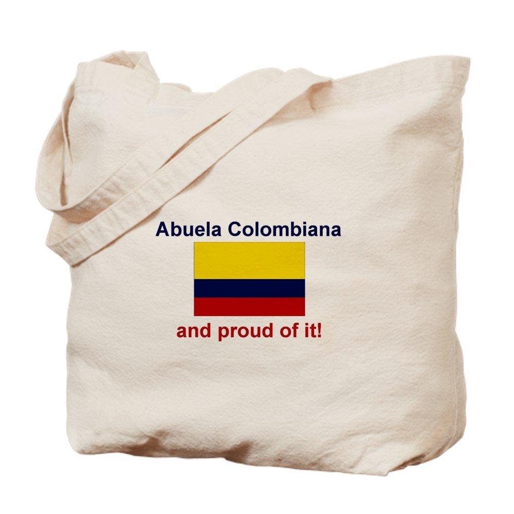CafePress – Colombian Grandmother ( Abuela ) – ナチュラルキャンバストートバッグ、布ショッピングバッグ B06WVC9KG5