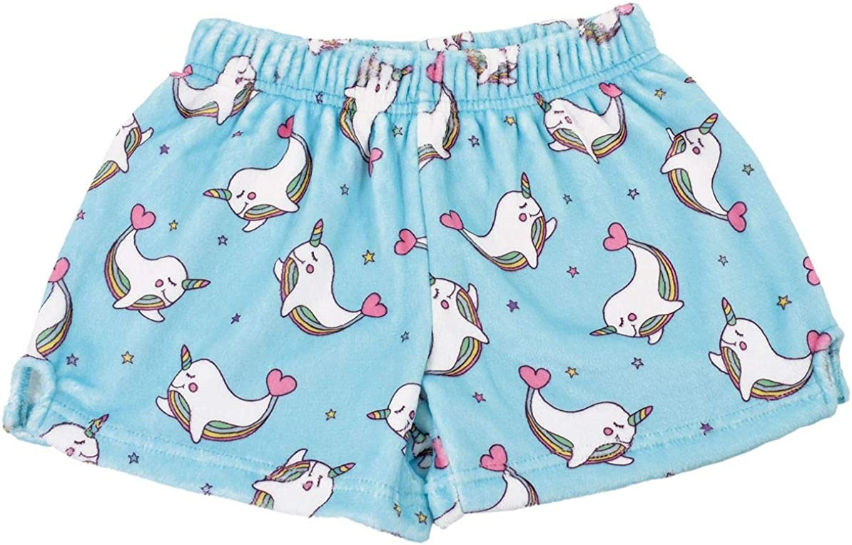 Pastel Dreams Collection iscream Big Girls Silky Soft Plush Fleece Shorts