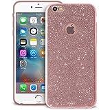 Puro IPC655SHINERGOLD Custodia per iPhone 6/6s Plus, Oro Rosa