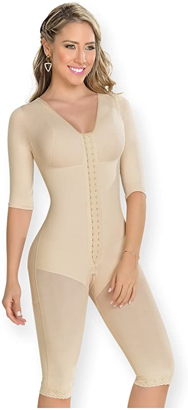 M D 0161 Fajas Colombianas Post Surgery Compression Garments After Liposuction At Amazon Women S Clothing Store