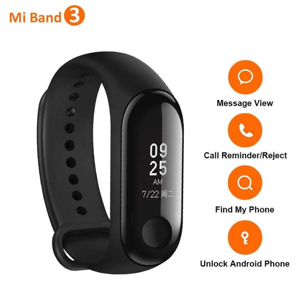 Smartband Xiaomi Mi Band 3 por 22,99€ ¡¡15% de descuento!!