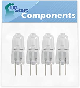 4-Pack WP4452164 Oven Light Bulb Replacement for KitchenAid KEBC107KSS05 Oven - Compatible with KitchenAid WP4452164 Light Bulb