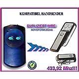 Top Qualit/ät Kopierger/ät!!! 4-kanal 433,92Mhz fixed code klone fernbedienung CAME TOP432SA kompatibel handsender