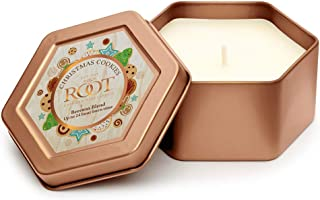 product image for Root Candles Traveler Tin Scented Beeswax Blend Candle, 4-Ounce, Christmas Cookies