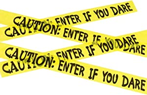 Fun World Caution Tape - Caution - Enter if You Dare