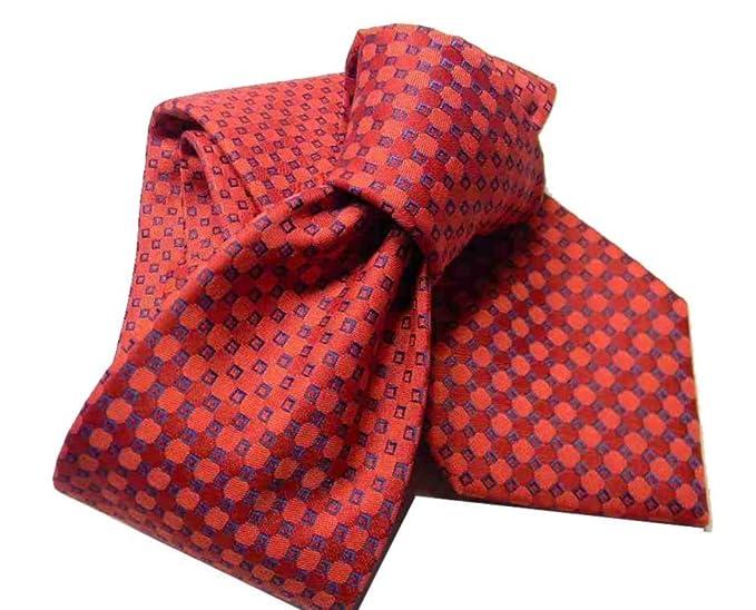 sconto più basso negozio di sconto prezzo di fabbrica CRAVATTA UOMO ROSSA cravatte rosse varie con microdisegni ...