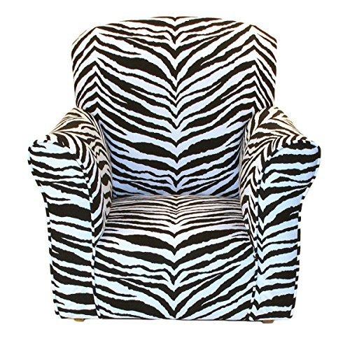 Brighton Home Furniture Toddler Rocker in Zebra Printed Cotton by Brighton Home Furniture