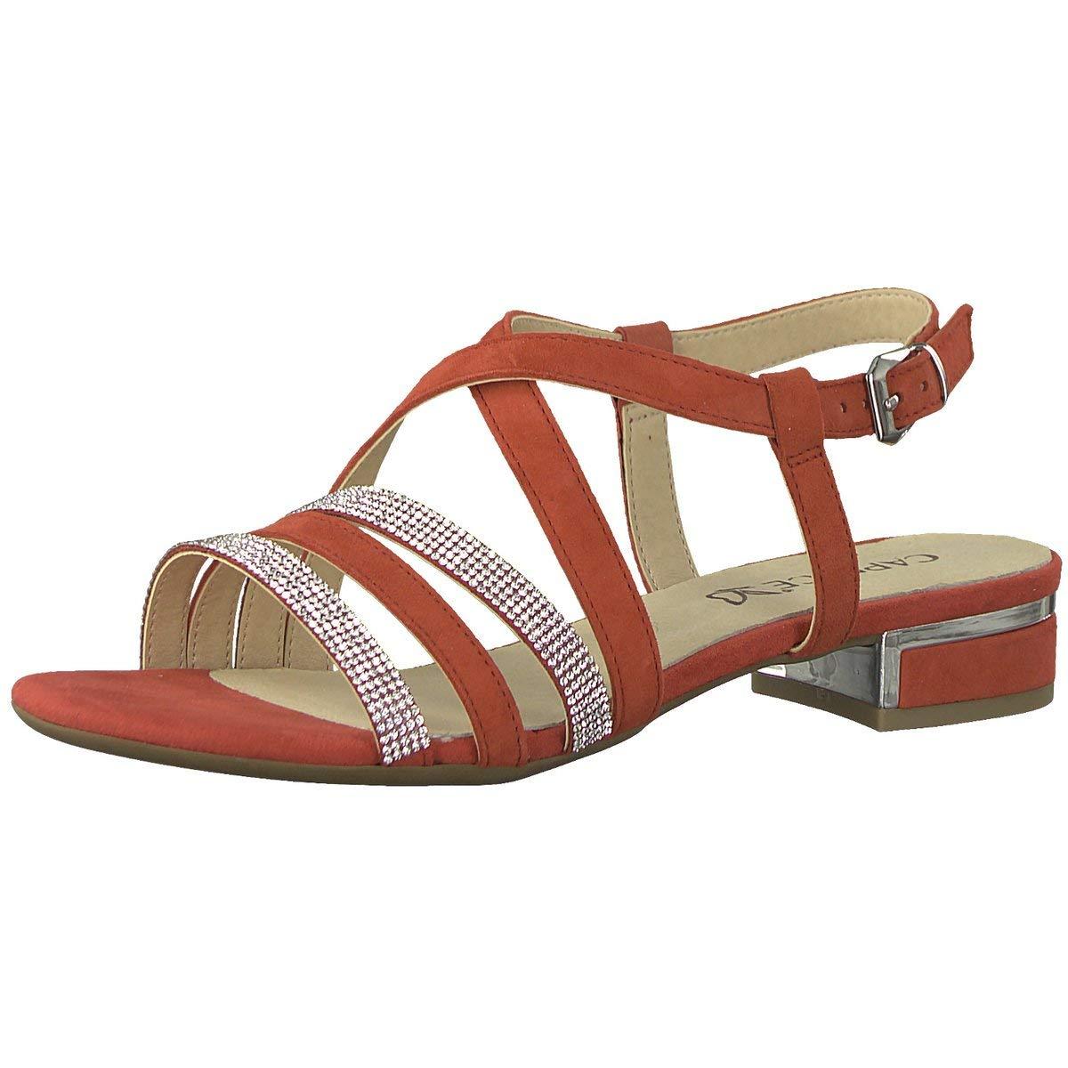 CAPRICE Damen Damen CAPRICE Sandaletten Woms Sandales 9-9-28110-20/524 rot 400734 Rot e2b953