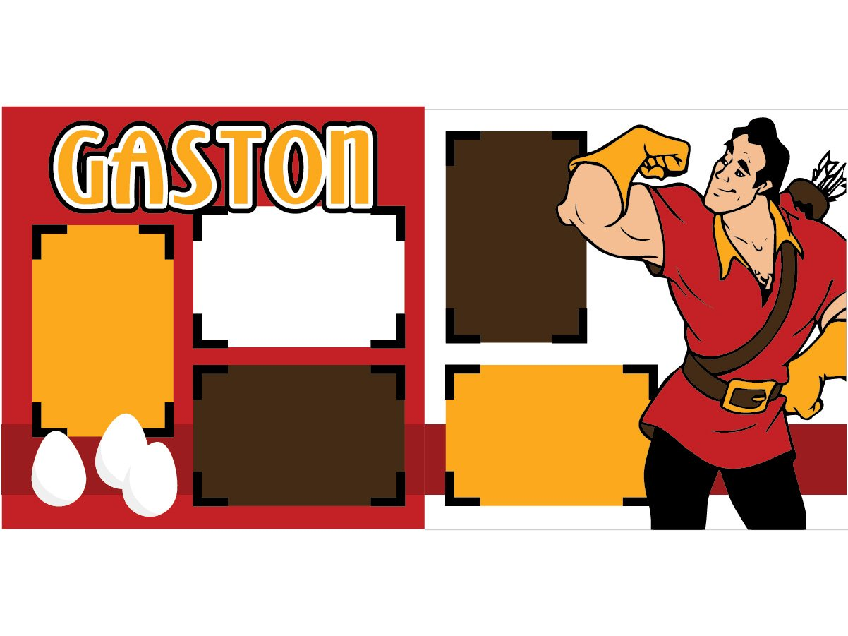 ''Gaston'' Scrapbook Kit