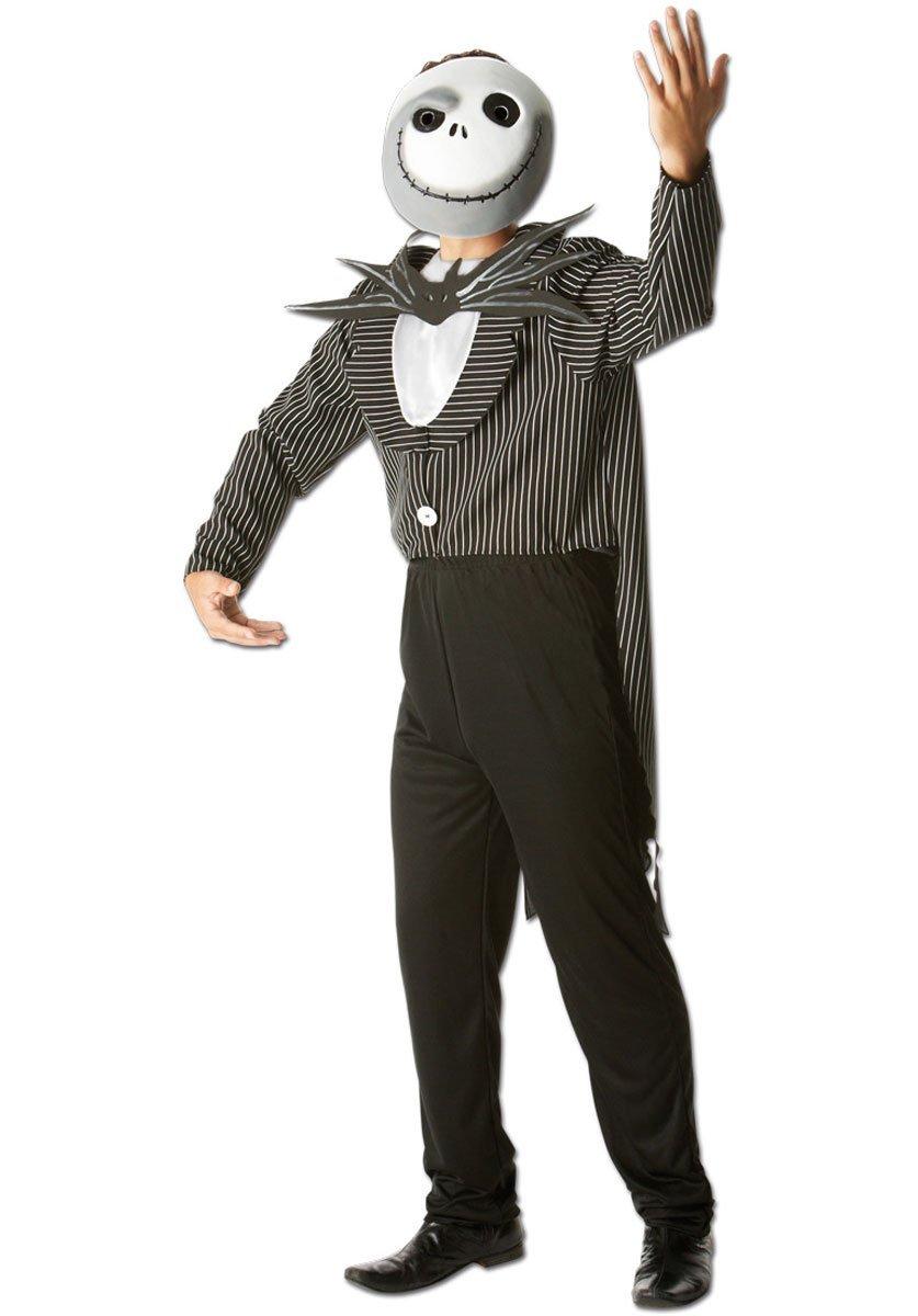 Rubies s oficial Jack Skellington la noche antes de Navidad, disfraz para adultos - tamaño estándar: Amazon.es: Juguetes y juegos