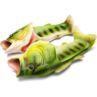 Couple Fish Slippers for Men and Women Creative Funny Beach Cool Non-Slip Fashion House Sandals Outdoor
