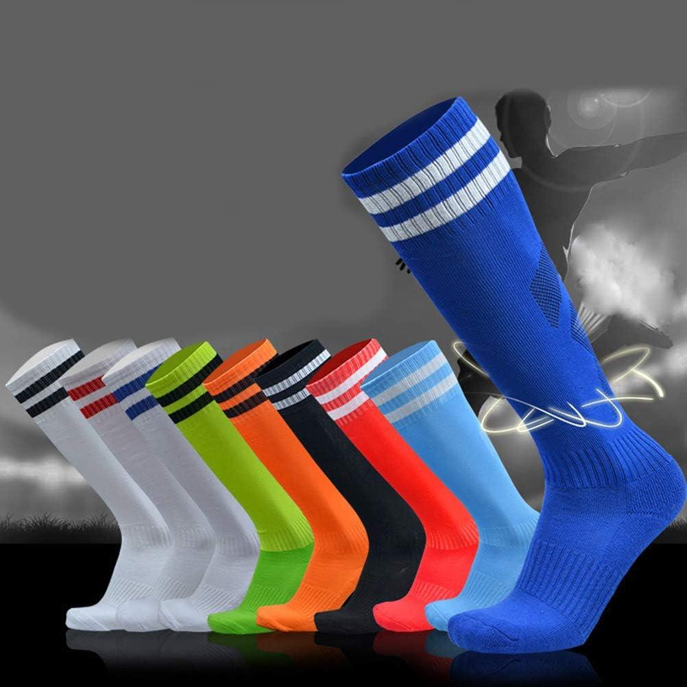 Small Vert Kampre Chaussettes de Football en Coton /épais pour Adulte et Enfant Absorbant la Transpiration