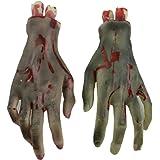 Sunward(TM) Halloween Horror Props Bloody Hand Party Decoration